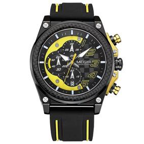 Relógio Megir Masculino 2051 Movimento Quartzo