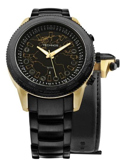Relógio Technos Connect 753aa/4p *troca Pulseiras