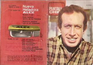 Tapa Pantalla Chica-roberto Yanes/heladora Alce/rado (001)