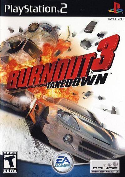 Burnout 3 Para Ps2