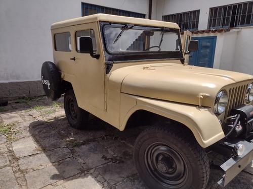 Jeep Willys 67 Capota De Aço Original