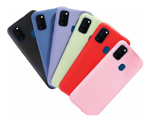 Forro Estuche Silicona Para Samsung A21s