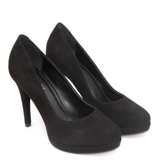 Zapato Lady Stork Mujer Stiletto Fiesta Taco Luis Xv Daila