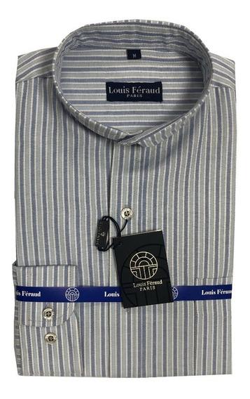 Camisas Cuello Mao Louis Feraud Manga Larga 102411