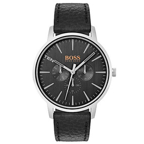 Relógio Masculino Hugo Boss Couro Preta 1550065 Vivara Origi