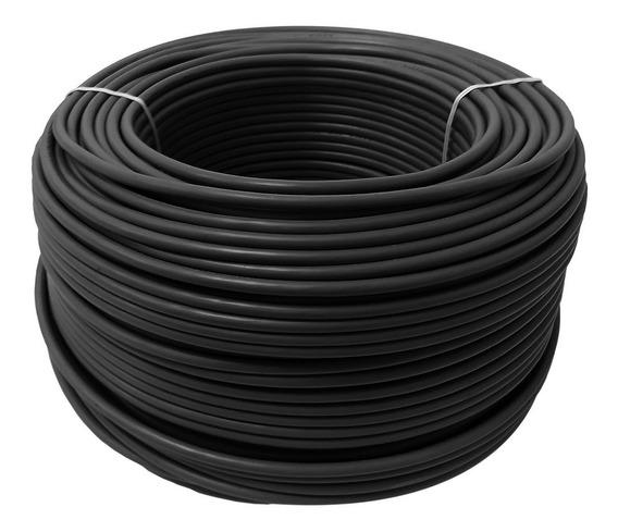 Cable Calibre 12 Thw Alucobre En Caja Con 100m Color Negro