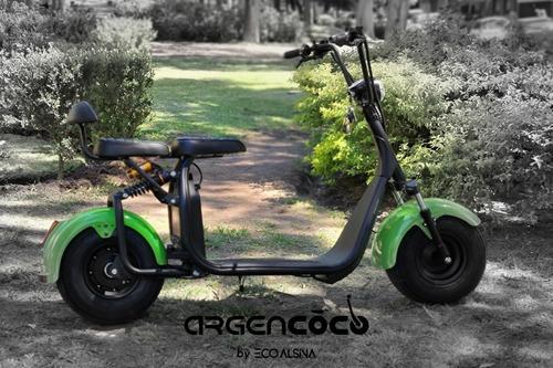Imagen 1 de 11 de City Coco Argencoco 1500w Moto Eléctrica/vehiculos 0km
