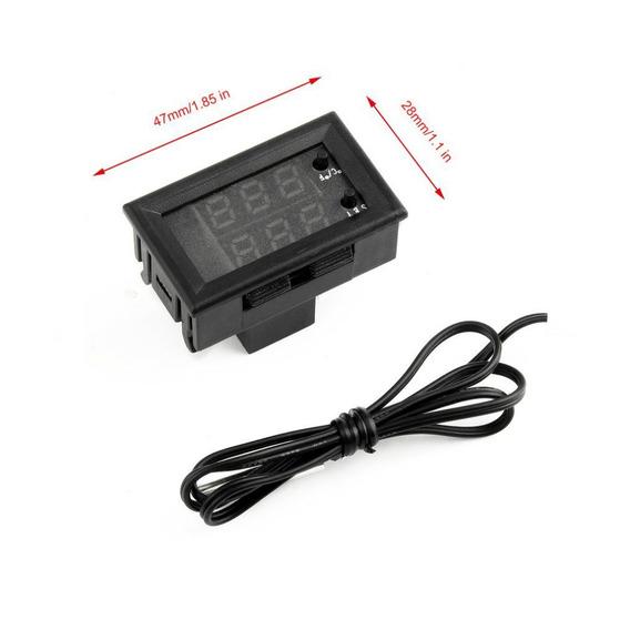 Controle De Temperatura Termostato Digital Dc 12v 20a