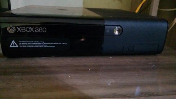 Xbox 360+kinect Sensor+2 Jogos+1 Controle+todos Os Cabos