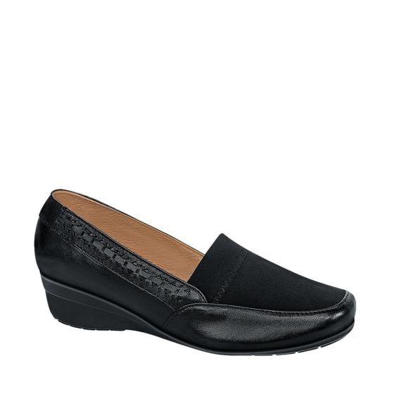 Zapatos Confort Dama Shosh Negro 166109 Cft 1-19 J