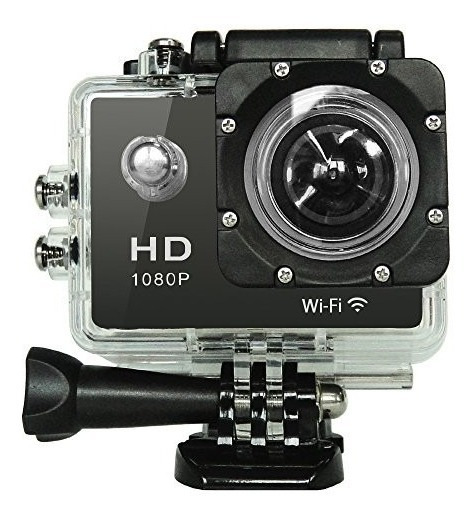 Câmera Hd 1080p Sports A Prova D`agua C/ Wifi+memoria Sd 32g