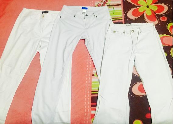 3 Pantalones Blancos De Marca Y Baratos (3x1)