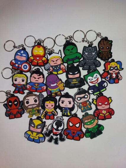 Chaveiros De Borracha Heróis Vingadores Ultimato