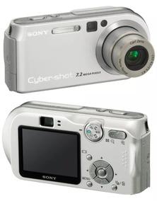 Câmera Fotográfica Sony Cyber-shot 7.2mega Pixels Dsc-p200