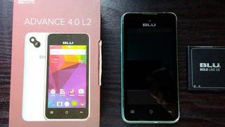 Teléfono Blu Avances 4.0 L2. Placa Dañada.