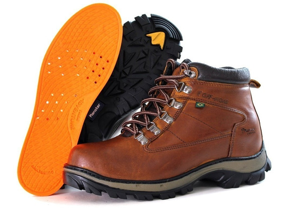 Boot But Masculino Adventure Couro Bovino Com Palmilha Gel