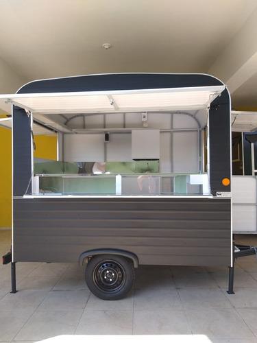 Imagem 1 de 15 de Trailer Food Truck - 2,50 X 1,80 2021 Direto Da Fábrica