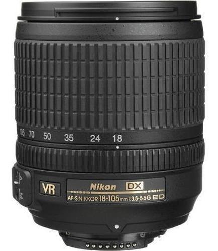Lente Nikon Original 18-105mm Pronta Pra Usar