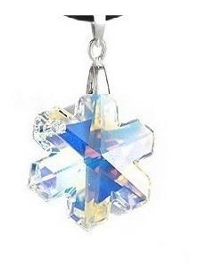 Swarovski Elements Oferta Collar Lindo Copo De Nieve