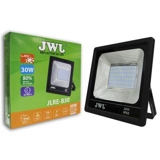 Reflector Led 30w Facetado Ultradelgado Luz Blanca 44pzs Jwj