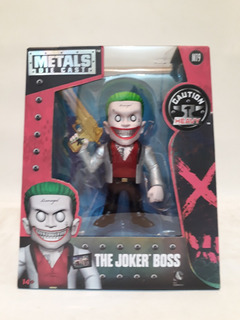 Muñecos Metals Die Cast-suicide Squad-the Jocker Boss-10 Cm