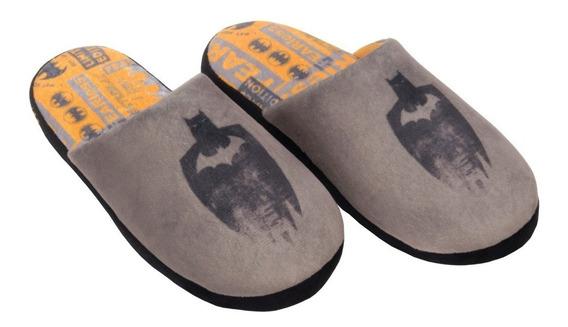 Pantufa Chinelo De Quarto Masculino Batman Ricsen