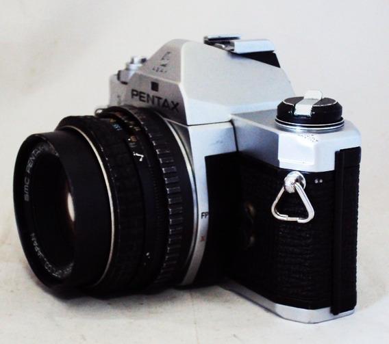 Câmera Pentax Mx Com 50 Mm F/2