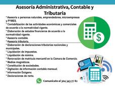 Contador Público- Asesoría Contable Y Tributaria