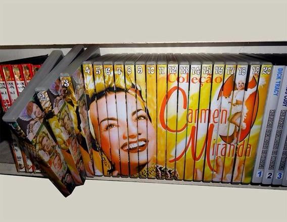 Coleção Definitiva Da Estrelíssima Carmen Miranda Em 20 Dvds