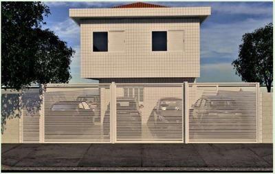Casa Em Cidade Naútica, São Vicente/sp De 45m² 2 Quartos À Venda Por R$ 200.000,00 - Ca221342