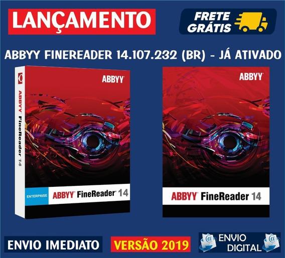Abbyy Finereader 14.107.232 (br) / Envio Digital Imediato