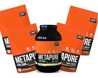 Combo Whey Isolado 2,8kg - Metapure Qnt - Definição Muscular