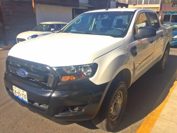 Ford Ranger Xl Crew Cab 2017, 2.5l, Tm5, A/ac, R16