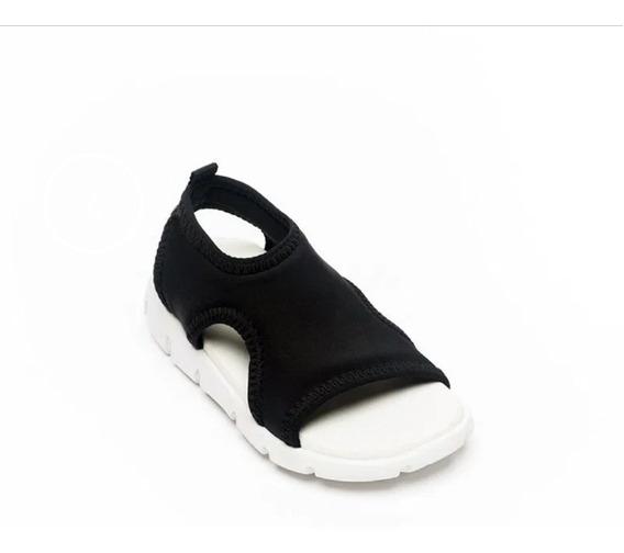 Sandalias Elastizadas Diez Indiecitos Negro Ó Camufladas Nue