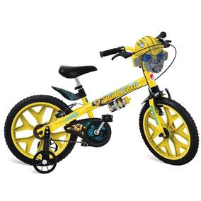 Bicicleta Infantil Bandeirante Transformes Aro 16