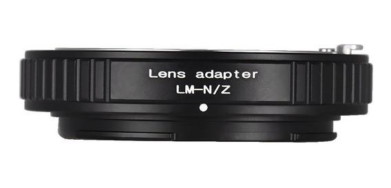 Lente Monte Adaptador Anel Alumínio Liga Para Leica Lm Lent