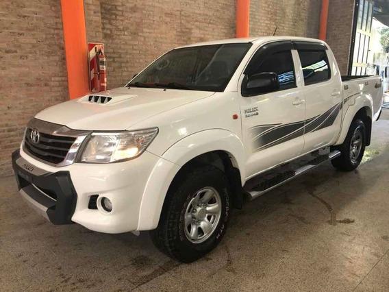 Toyota Hilux 3.0 Cd Sr 171cv 4x4 - C3 2014 Único Dueño