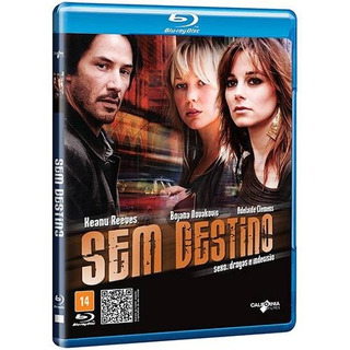 Blu-ray Sem Destino - Keanu Reeves - Novo Lacrado***