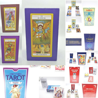 Kit Tarot Paño Mazo Caja Velon Sahumerio Porta Envio Gratis