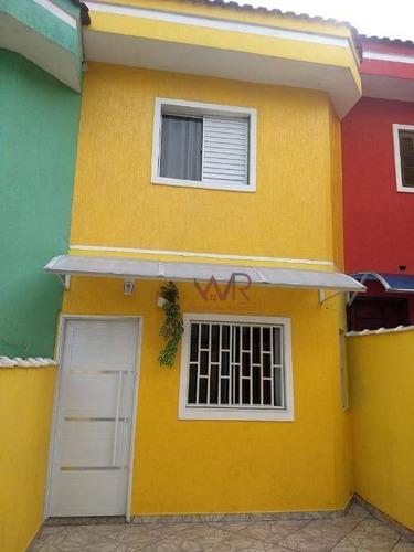 Sobrado Com 2 Dormitórios À Venda, 108 M² Por R$ 349.800,00 - Guaianases (zona Leste) - São Paulo/sp - So0620