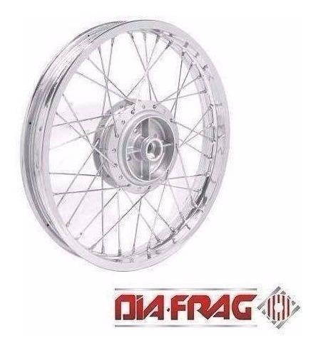 Aro Cubo Raio Roda Montada Dianteira Titan 150 Ks 2004 Diant