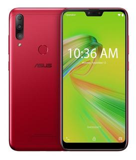 Celular Asus Zenfone Max Shot Vermelho 64gb Zb634kl Tela 6,2