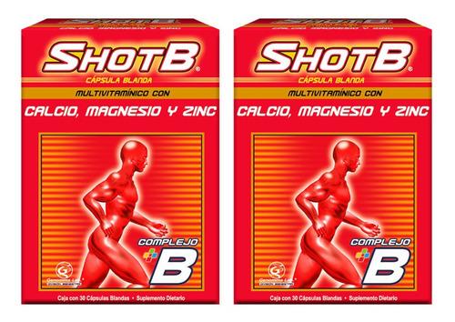Oferta Shot B 30 Cap X 2 Unid - Unidad a $1530