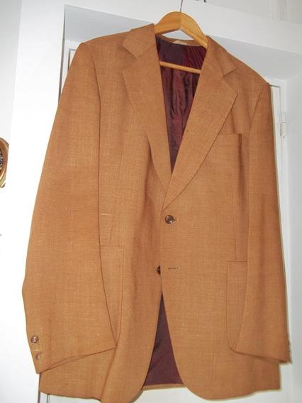 Saco De Vestir De Hombre Color Caqui