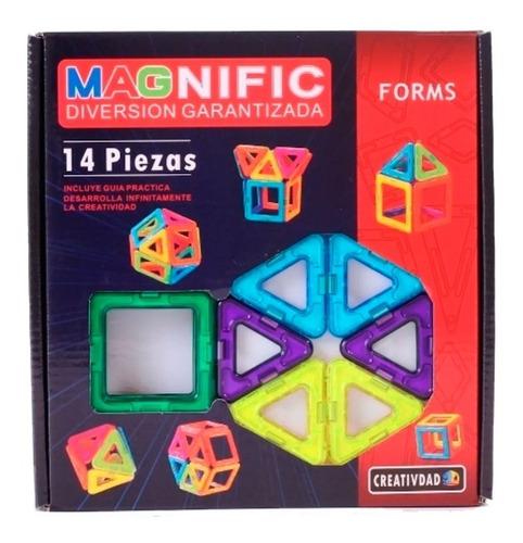 Magnific Forms Bloques Magnéticos  14 Piezas 2066 E. Full