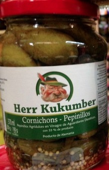 Pepinillos Herr Kukumber X 370gr Pepino / Aleman