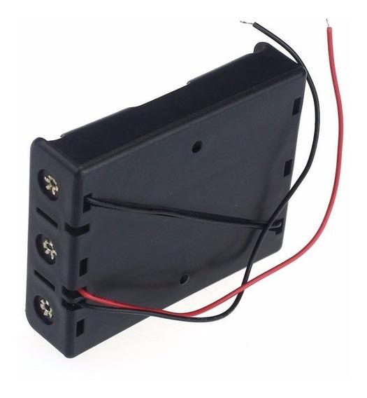 Case Box Plastico P 3 Baterias 18650 Robotica Frete Barato