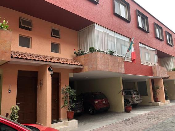 En Condominio Casa En Coyoacán Cerca Uam Xochimilco