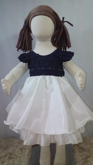 Vestido Infantil/ Bebê/ Festa/ Aniversário/ Casamento C106