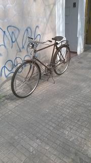 Bicicleta Phillips Color Marron Original Inglesa Rodado 28